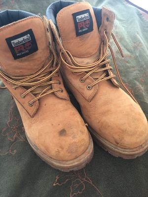 Timberland Pro Series Work Boots Steel Toe sz 13W for Sale in Stone Mountain, GA