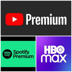 Streaming services - HBOmax, Spotify for Sale in Houston,  TX
