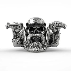 Biker Stainless Steel Ring Size 10.5 for Sale in Grove City, OH