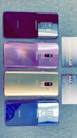 Samsung Galaxy S9 Plus 64GB Factory Unlocked / ATT T-Mobile Verizon Sprint Starting @ for Sale in Arlington,  TX