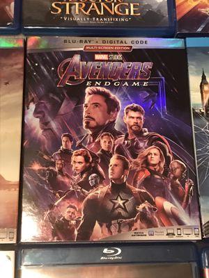 Avengers Endgame Blu-ray for Sale in Gardena, CA
