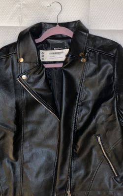NEW boohoo leather moto jacket for Sale in Galloway,  OH