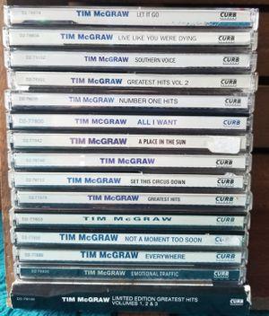 Tim McGraw CD's for Sale in Westport, WA