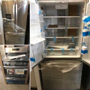 NEW WHIRLPOOL 2 PIECE APPLIANCE COMBO for Sale in Englewood, NJ