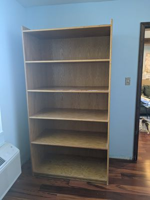 Wooden shelving unit for Sale in Queens, NY