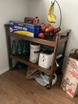 Kitchen cart on wheels for Sale in Roselle, IL