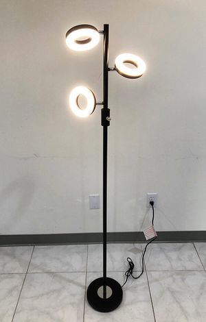 Brand new $30 LED 3-Light Floor Lamp 5ft Tall Adjustable Tilt Lighting Fixture Home Decor Office for Sale in Pico Rivera, CA