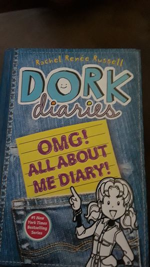 Dork diaries omg all about me diary for Sale in Modesto, CA