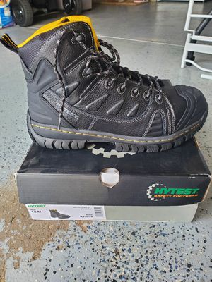Brand new Hytest work boots size 13 for Sale in Amelia, OH