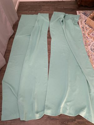 96 inch mint curtains for Sale in Surprise, AZ