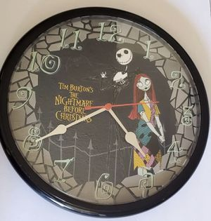 The nightmare before Christmas wall clocks for Sale in Fontana, CA