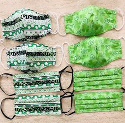 New Shamrock masks For Adults for Sale in Everett,  WA