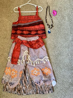 Moana princess great for a little girl - sz 6 for Sale in Tampa, FL