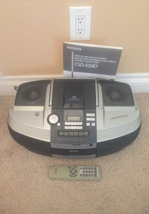 Compact CD / Cassette / Radio Stereo System for Sale in El Cajon, CA