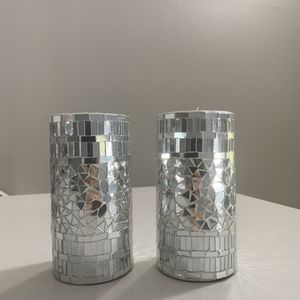 """Elegant Candle Set (pair) 6"""" Tall for Sale in Irvine, CA"""