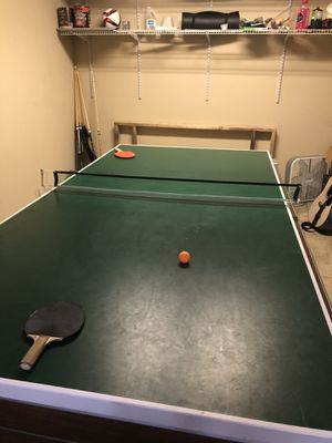 Pool table air hockey ping pong for Sale in Beaverton, OR