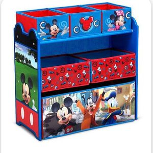 New In Box Mickey Mouse Toy Organizer for Sale in Cedar Crest, NM