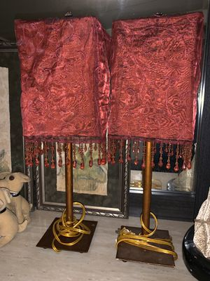 Pair of lamps for Sale in Oklahoma City, OK