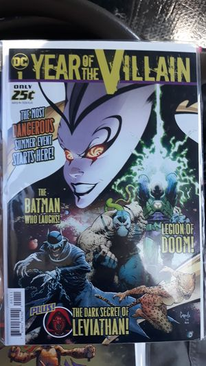 Free comic book day 2019 Year of the Villain for Sale in Los Angeles, CA