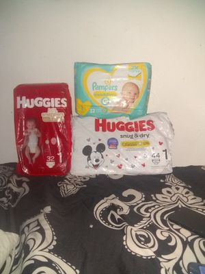 Diapers Size 1 for Sale in Salt Lake City, UT