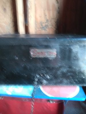Old Snap-on tool box with miscellaneous tools for Sale in Tampa, FL