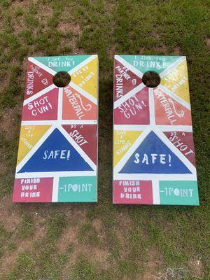 Custom Party Game Cornhole Set for Sale in Tinton Falls, NJ