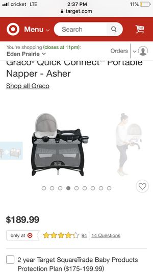 Graco napper/changing table plus playpen. for Sale in Eden Prairie, MN