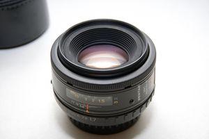 Pentax-F 50mm f/1.7 Autofocus Full Frame camera lens for Sale in Boca Raton, FL