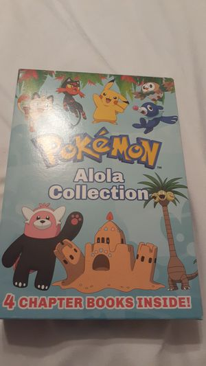 Pokemon Alola Collection - 4 Chapter Books Inside! for Sale in Davenport, FL