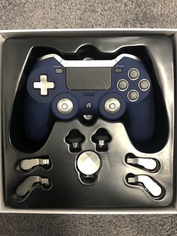 Elite Controller For PS4 (Wireless)(Blue) for Sale in San Angelo,  TX