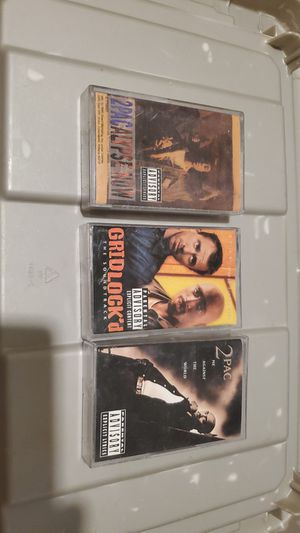 2pac Cassette Lot for Sale in Tolleson, AZ