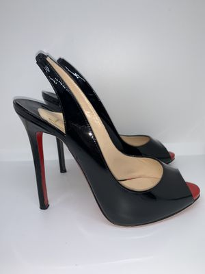 Christian Louboutin 38 Private Number Peep Toe Pump for Sale in Miami Beach, FL