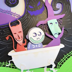 Nightmare Before Christmas art for Sale in San Antonio, TX
