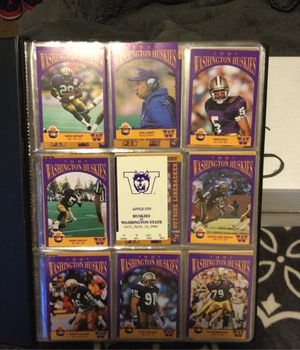 Binder Of University of Washington Tickets and Cards—1988-2001 for Sale in Bothell, WA