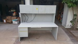 Large metal desk for Sale in Santa Ana, CA