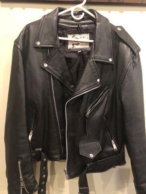 Leather Biker jacket for Sale in Long Branch, NJ