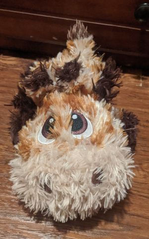Fluffy magnetic giraffe zipper mouth plushie for Sale in Los Angeles, CA