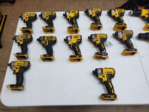 Dewalt 20v impacts from 40$ to 75$ depending on condition for Sale in Fort Worth, TX