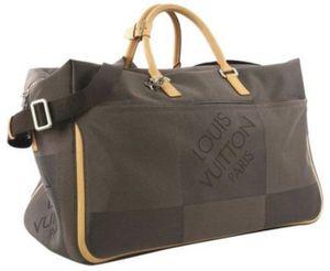 """Louis Vuitton Souverain Keepall Albatros Duffle Bandouliere Canvas Geant Damier Weekend/Travel Bag 21.5""""L x 11""""W x 13""""H for Sale in Scottsdale, AZ"""