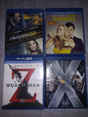 BluRay $2 Each OR All For $14 for Sale in FL, US