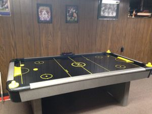 Fooseball table sold. air hockey table still available for Sale in Severn, MD