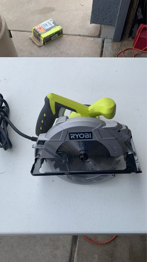 Ryobi Circular Saw with Laser for Sale in Avondale, AZ