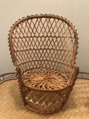 Rattan/Wicker Plant Chair for Sale in Newport News, VA