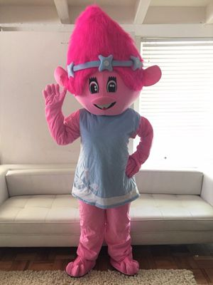 POPPY TROLLS ADULT MASCOT COSTUME FOR BIRTHDAY PARTIES For Sale In Los Angeles CA