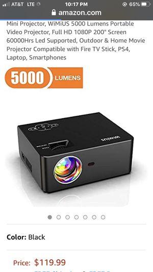 Brand New Video Projector for Sale in Hemet, CA