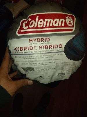 New Coleman hybrid sleeping bag for Sale in Lindsay, CA