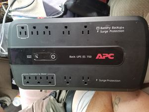 Apc battery backup + surge protector for Sale in Clovis, CA
