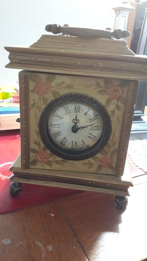 Antique clock with cubby for Sale in Carnation, WA