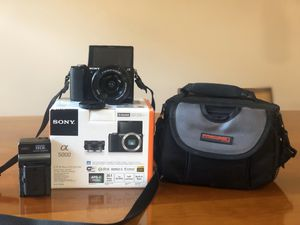 Sony Alpha a5000 Mirrorless Digital Camera for Sale in Kahului, HI