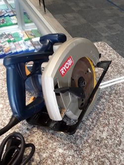 """Ryobi 7 1/4"""" Circular Saw for Sale in Willoughby,  OH"""